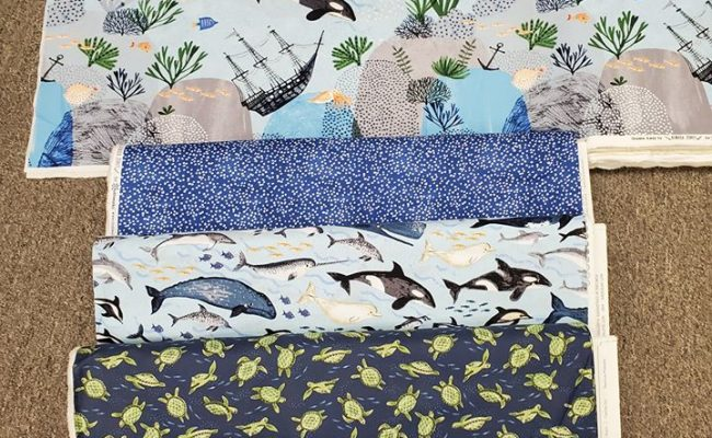 Oceans Away clothworks fabric