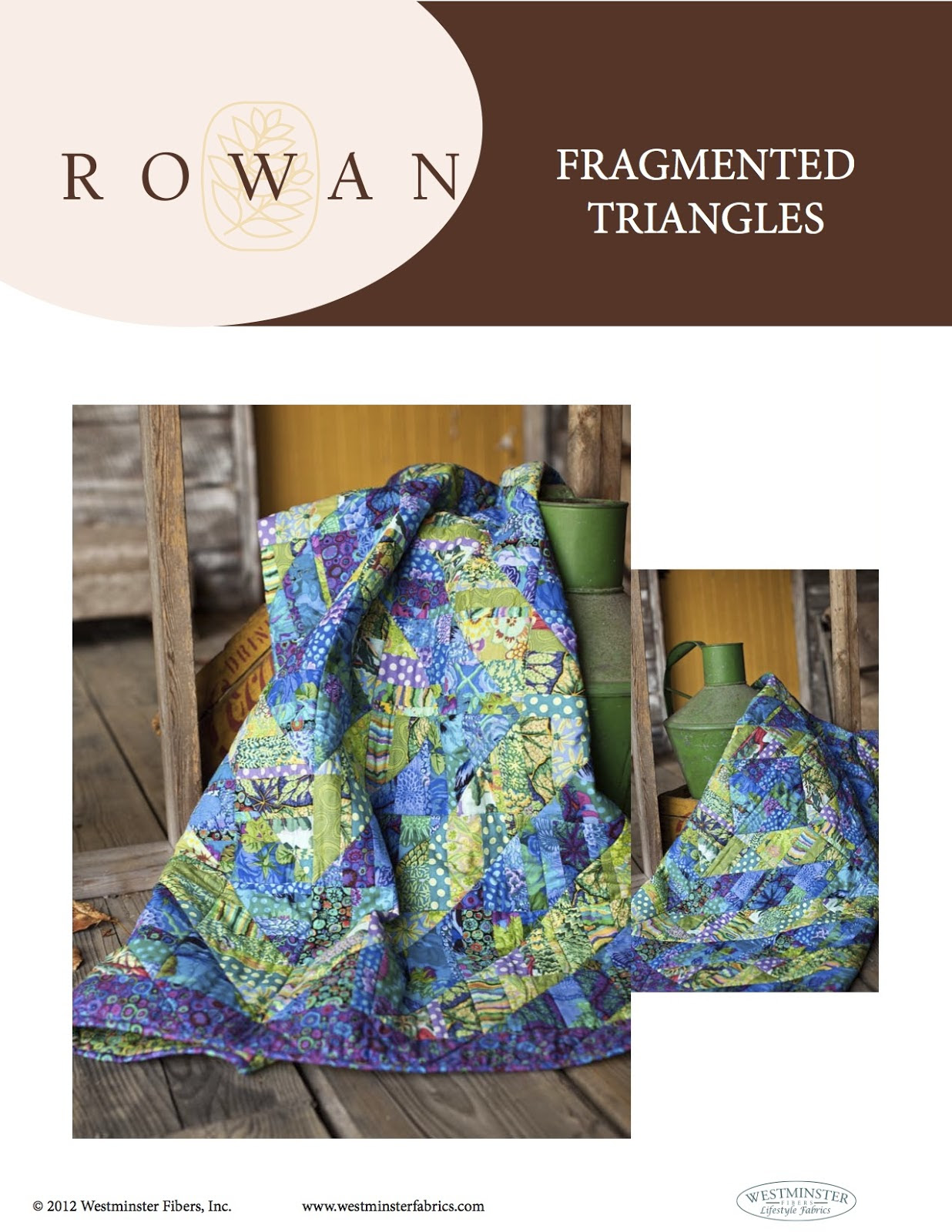 Rowan Fragmented Triangles Kaffe Fassett